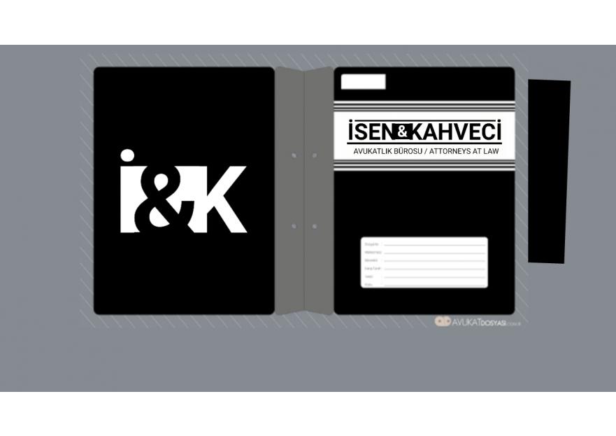 HUKUK BÜROSU yarışmasına tasarımcı 2N1K tarafından sunulan  tasarım
