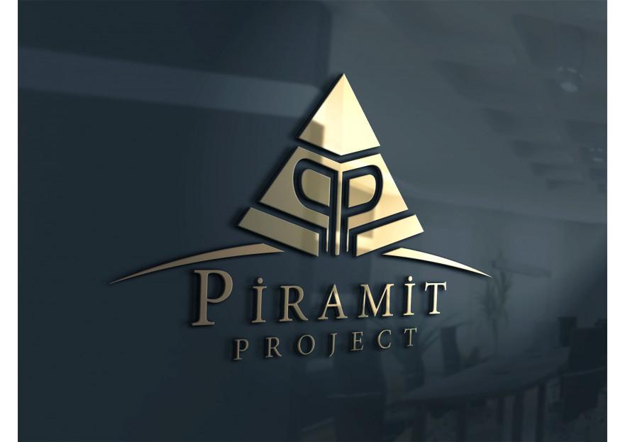 Piramit proje isimli firmamıza logo yarışmasına SEVEN_Design_ tarafından girilen tasarım