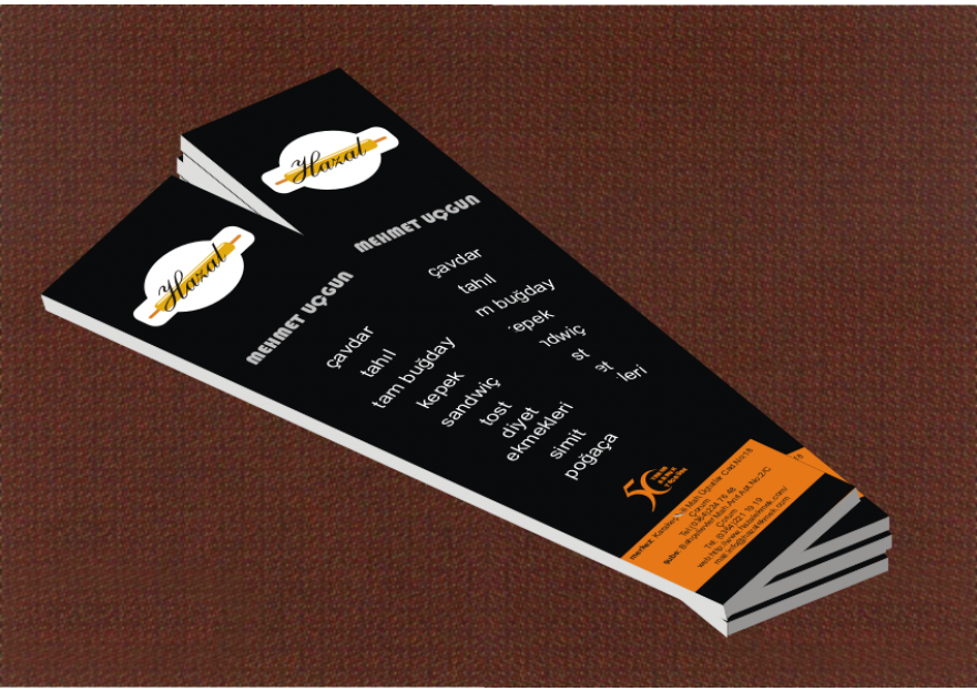 Kartvizit Tasarımı yarışmasına rabiaerbks tarafından girilen tasarım