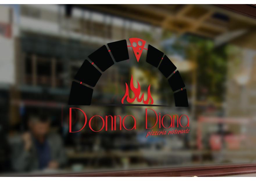 pizza restoranim icin logo tasarimi yarışmasına tasarımcı EypDesignn tarafından sunulan  tasarım