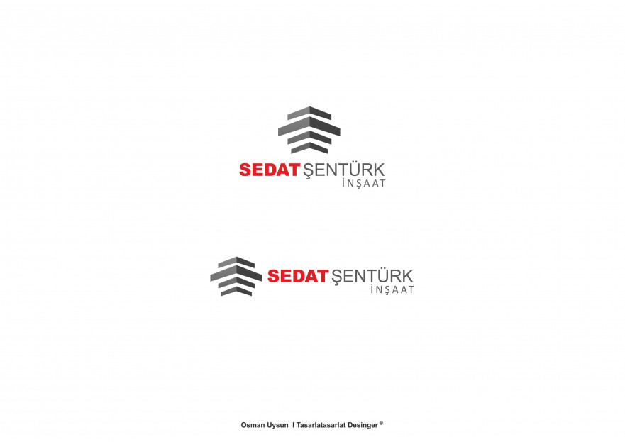 Müteahhit şirket için logo ve kimlik  yarışmasına tasarımcı Ou Creative  tarafından sunulan  tasarım