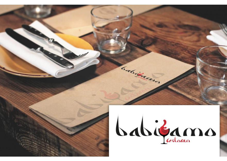Cafe ve Restaurant Logosu  yarışmasına neharbalin tarafından girilen tasarım
