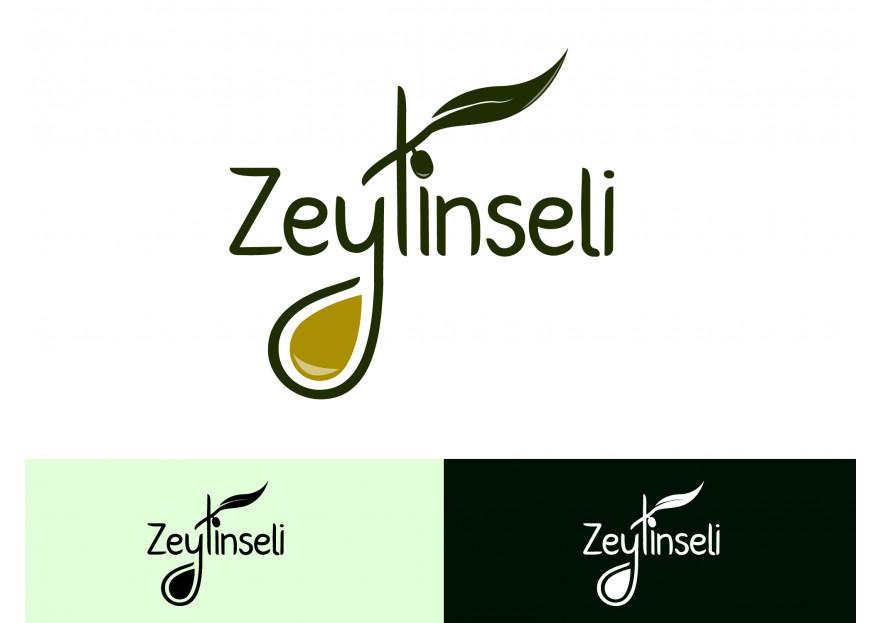 Zeytinyağı Markamıza Logo tasarımı yarışmasına tasarımcı mithat'ka tarafından sunulan  tasarım