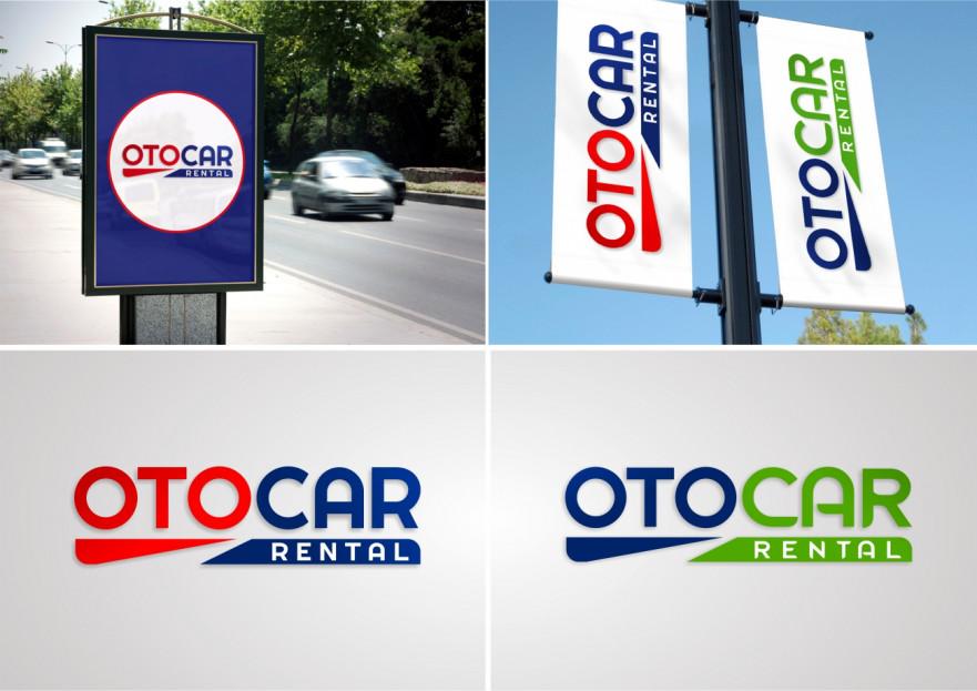 OTOCAR RENTAL LOGOSUNU ARIYOR yarışmasına tasarımcı byCNR tarafından sunulan  tasarım