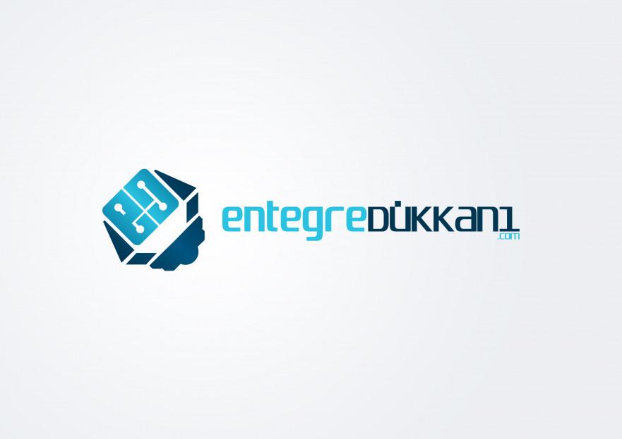 Entegre Dükkanı Logosunu Arıyor yarışmasına tasarımcı Hello tarafından sunulan  tasarım
