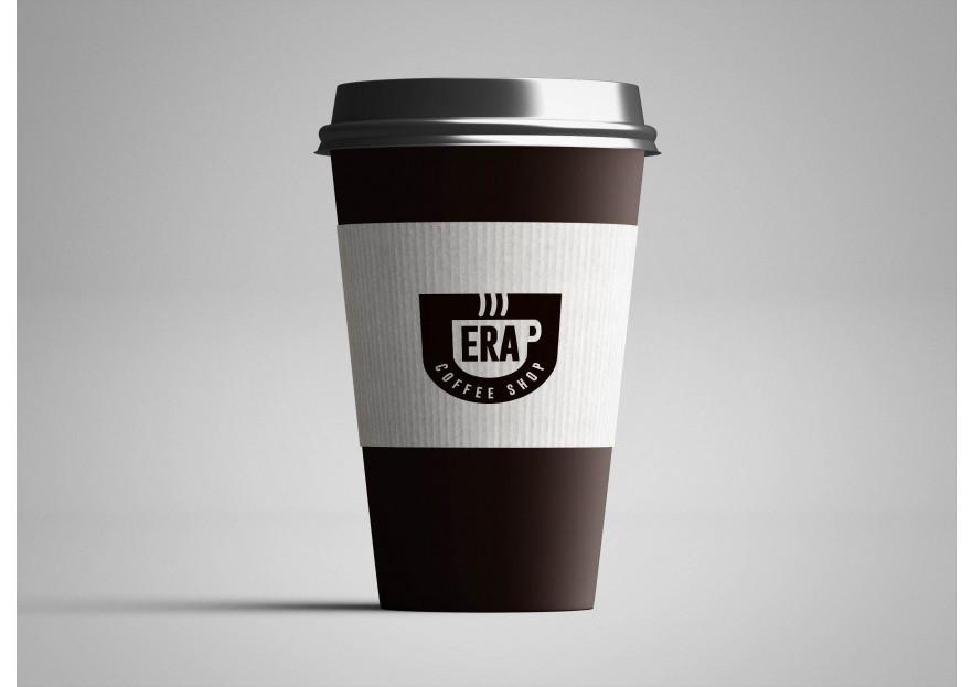 Kahve Dükkanı için Logo yarışmasına tasarımcı basak ozel tarafından sunulan  tasarım