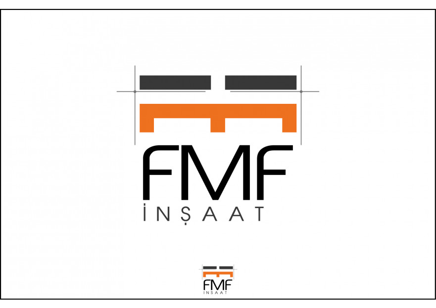 Müteahhitlik Firmamıza Logo Tasarımı yarışmasına tasarımcı FTT tarafından sunulan  tasarım
