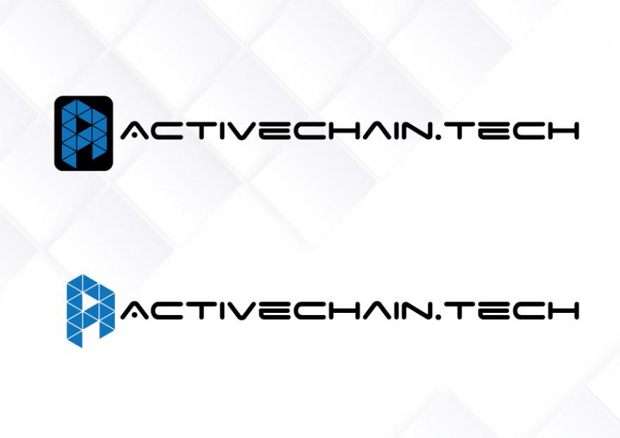 ActiveChain.tech Logo Yarismasi yarışmasına tasarımcı Ayşen01 tarafından sunulan  tasarım