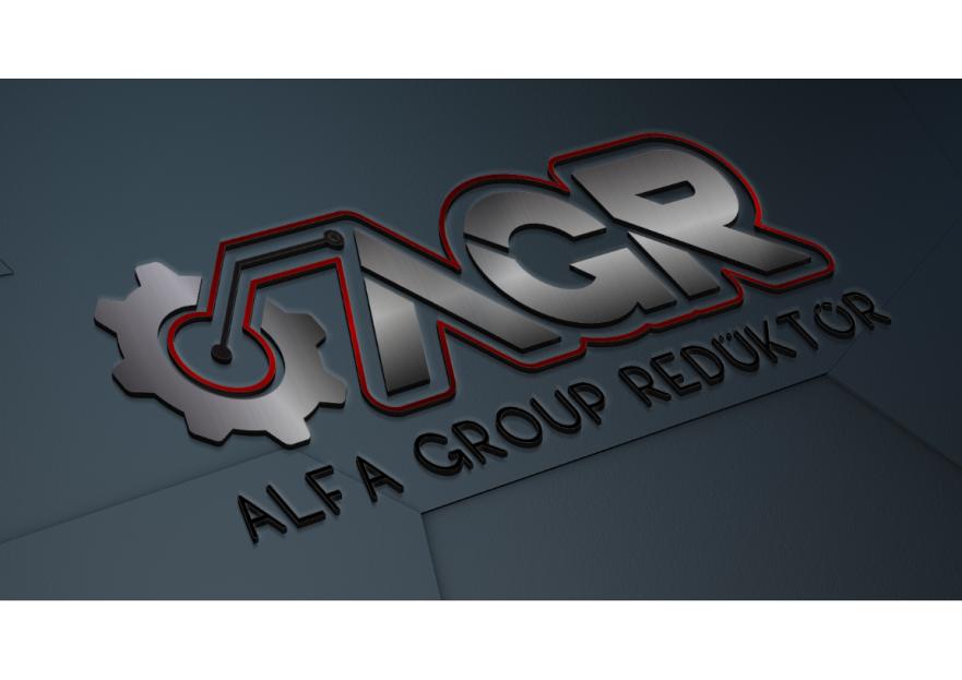 Alfa Group Redüktör Kurumsal Logo yarışmasına tasarımcı Designetry tarafından sunulan  tasarım