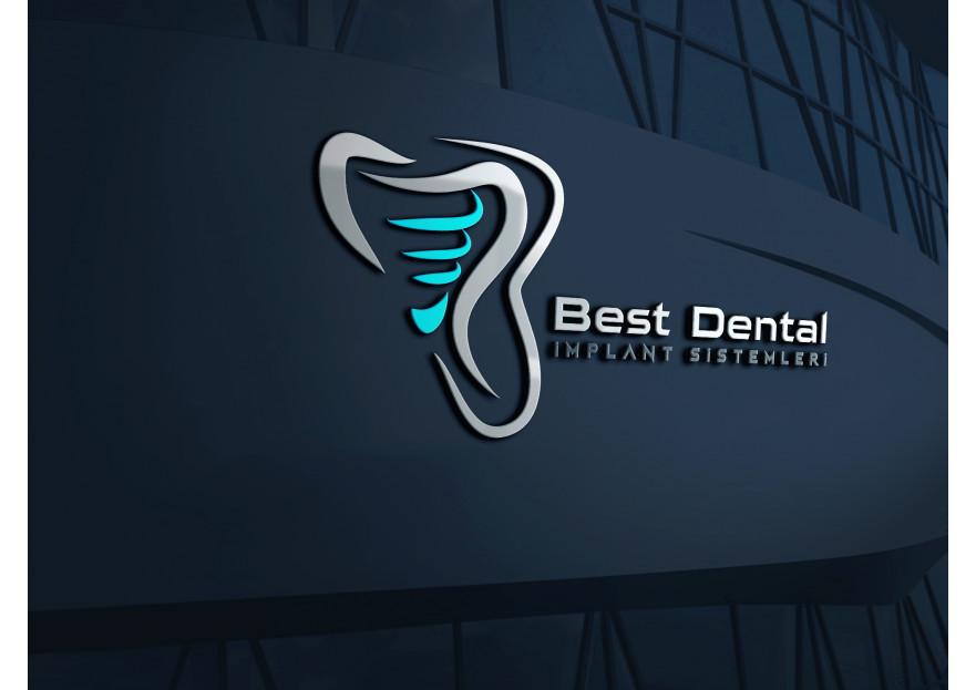 Best Dental Yeni logosunu arıyor yarışmasına tasarımcı kuzfe35 tarafından sunulan  tasarım
