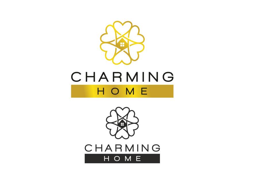 Charming Home Logo Tasarımı yarışmasına tasarımcı tufangulsu tarafından sunulan  tasarım