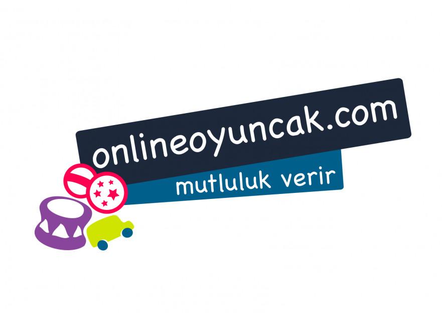 OnlineOyuncak.com Logo Tasarımı. yarışmasına tasarımcı lhlb tarafından sunulan  tasarım