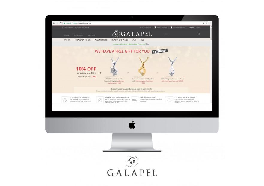 Mücevher markası logo  yarışmasına tasarımcı elbureklam tarafından sunulan  tasarım