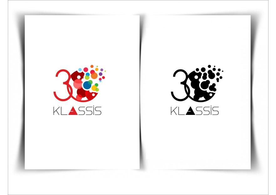 Klassis 30. Yıl Özel Logosu yarışmasına tasarımcı grafikseli tarafından sunulan  tasarım