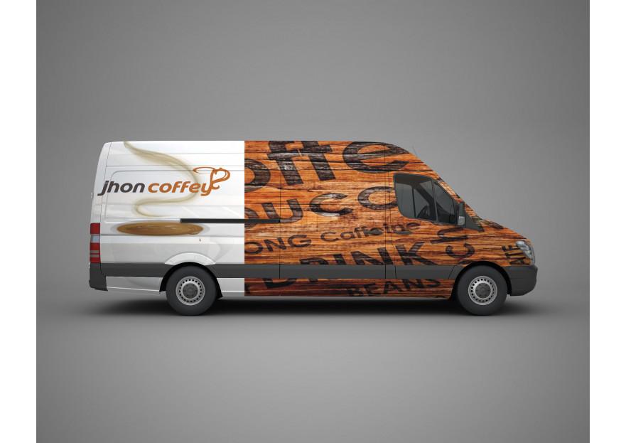 John Coffey Minibüs Giydirme yarışmasına tasarımcı altun1411 tarafından sunulan  tasarım