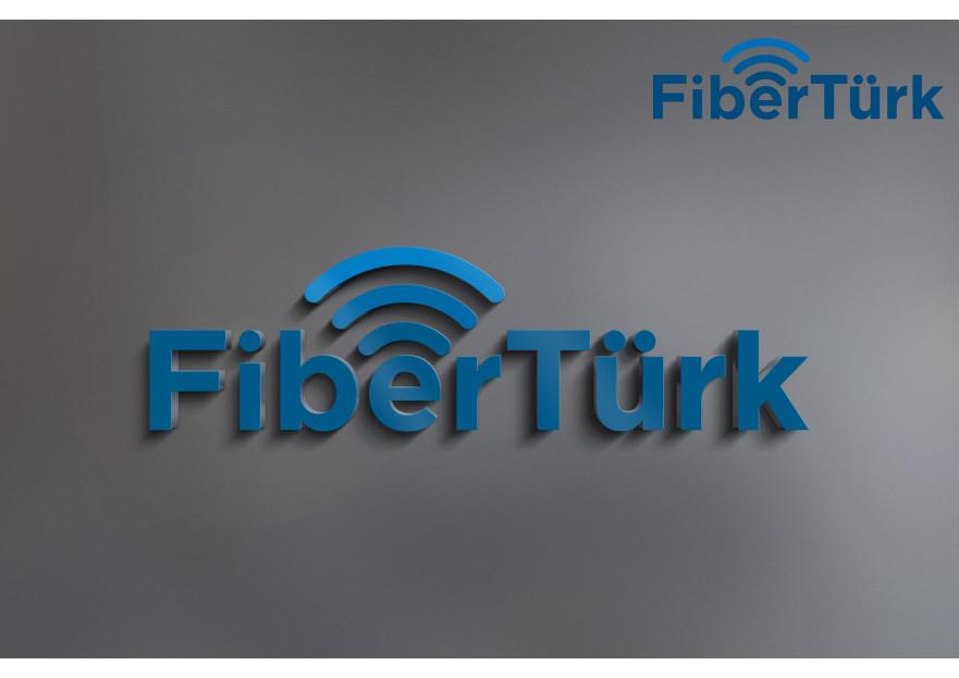 FiberTürk Logo Çalışması yarışmasına gkhnbytndesign tarafından girilen tasarım
