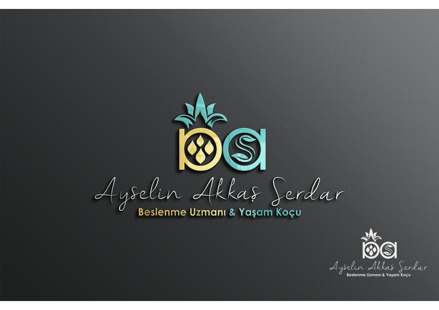 Zarif ve Özel Diyetisyen Logo yarışmasına Alagraf tarafından girilen tasarım