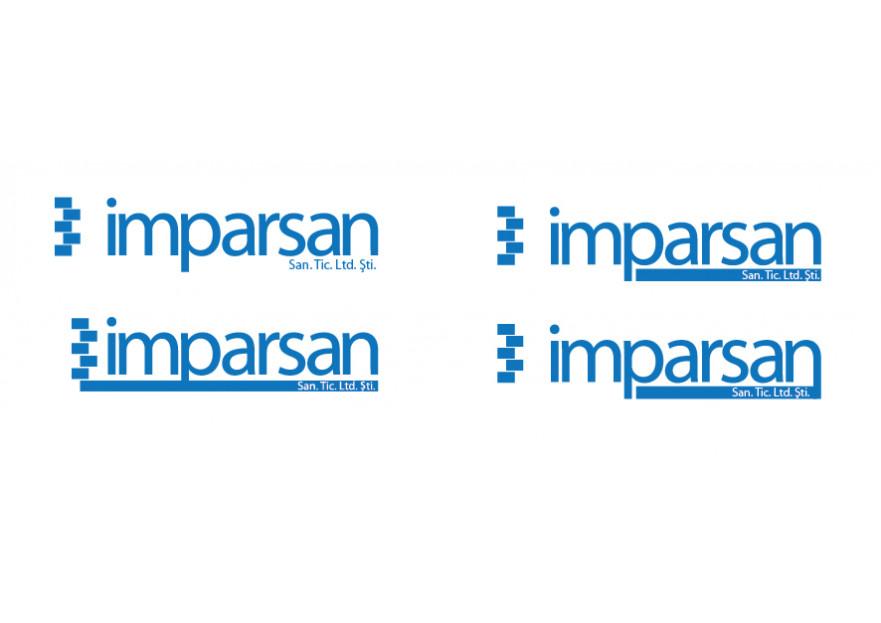 İMPARSAN SAN. TİC. LTD. Logo tasarımı yarışmasına tasarımcı mumin tarafından sunulan  tasarım