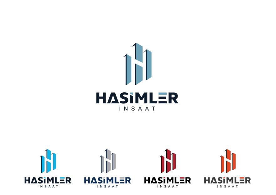 İnşaat firmasına logo çalışması yarışmasına tasarımcı iklim tarafından sunulan  tasarım