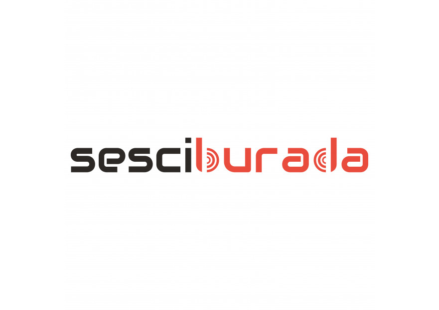 Sesciburada E-Ticaret sistemiz için logo yarışmasına tasarımcı AlKo_Design tarafından sunulan  tasarım