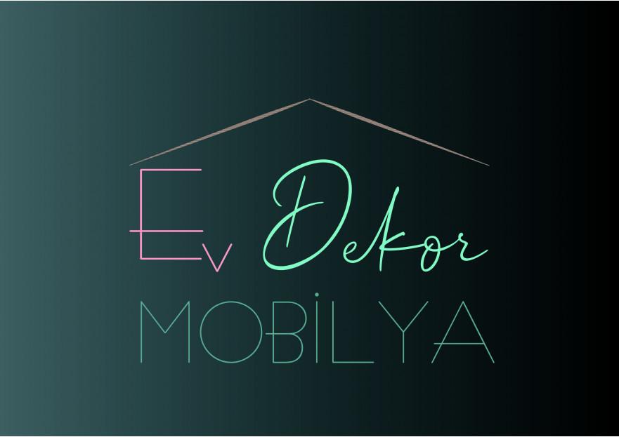 EV DEKOR MOBİLYA FİRMAMIZA YENİ LOGO  yarışmasına tasarımcı Cosima tarafından sunulan  tasarım