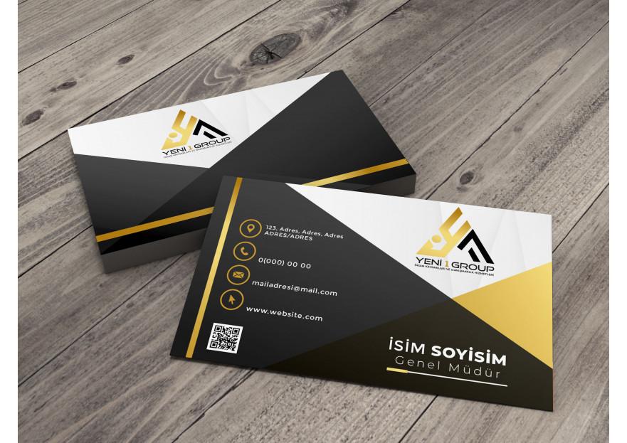İnsan kaynakları için logo ve kartvizit  yarışmasına tasarımcı nadesign tarafından sunulan  tasarım