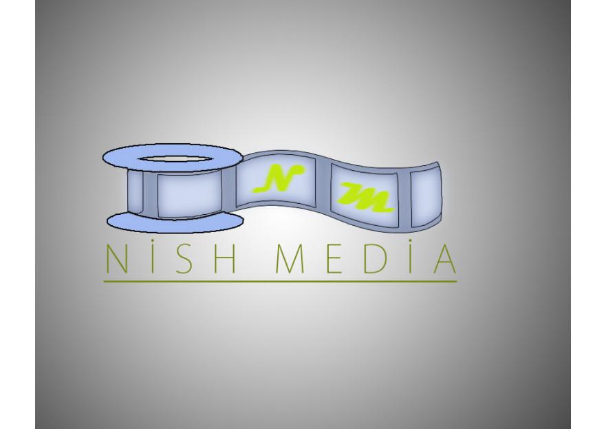 NİSH MEDYA LOGO YARIŞMASI yarışmasına tasarımcı m_ali tarafından sunulan  tasarım