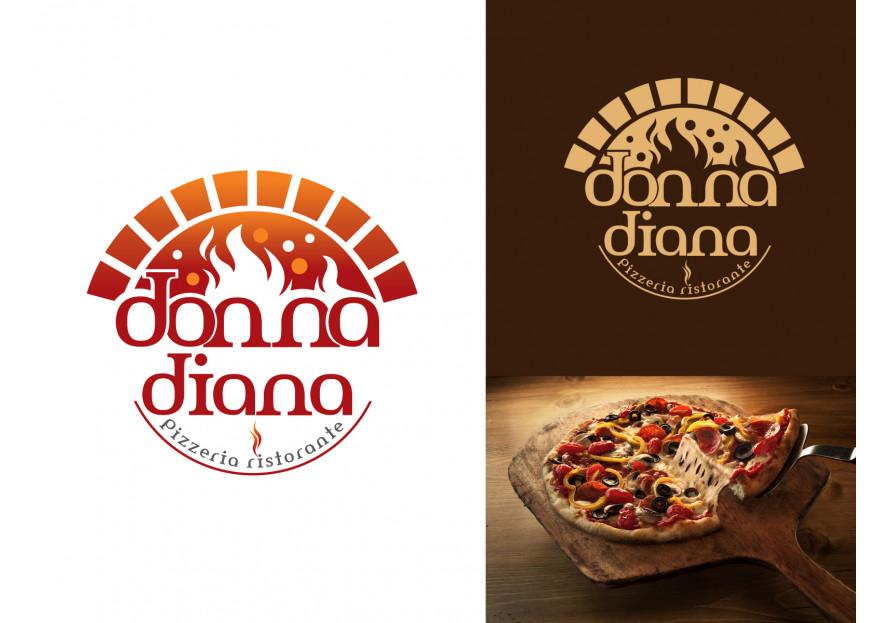 pizza restoranim icin logo tasarimi yarışmasına tasarımcı grfkismail tarafından sunulan  tasarım
