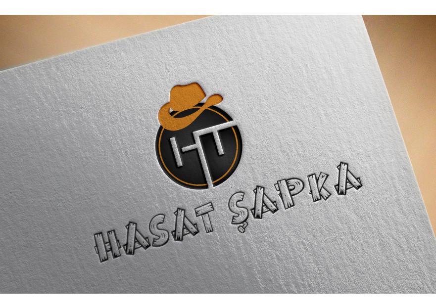 Ht Hasat Şapka Logo çalışması yarışmasına tasarımcı rAksa tarafından sunulan  tasarım