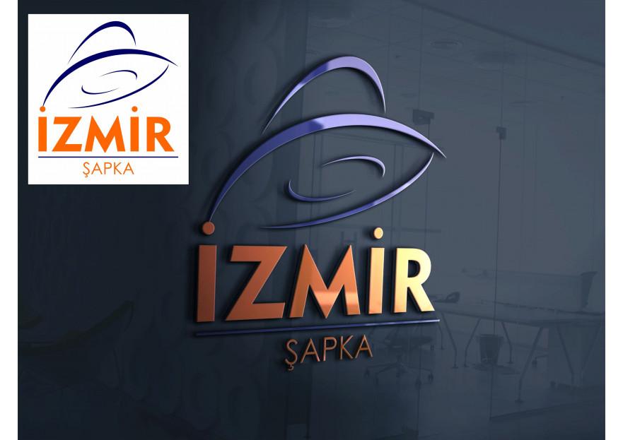 İzmir Şapka Logo Tasarımı yarışmasına menesg tarafından girilen tasarım