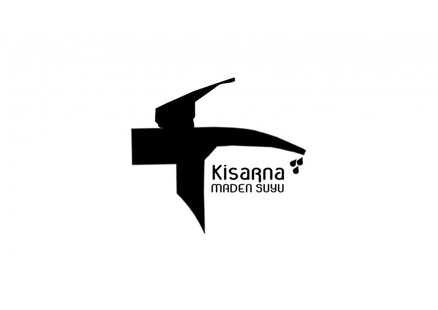 kisarna maden suyu için logo çalışması yarışmasına tasarımcı KOMUTGRAFİK tarafından sunulan  tasarım