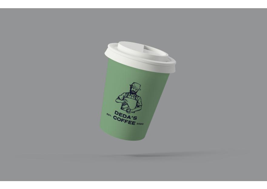 Kurumsal Olabilcek bir Coffee Marka LOGO yarışmasına tasarımcı elifakay tarafından sunulan  tasarım