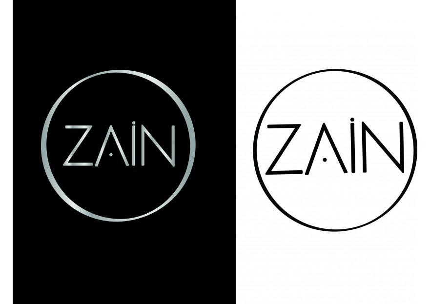 ZAIN - logo ve kurumsal kimlik tasarimi yarışmasına tasarımcı lavantaa tarafından sunulan  tasarım