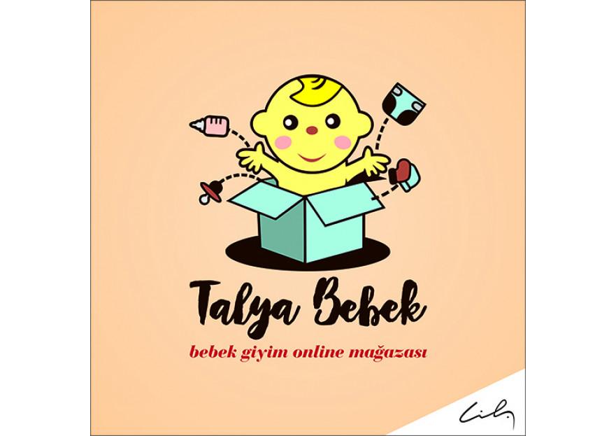 TALYA BEBEK logo çalışması yarışmasına tasarımcı cihatsarp tarafından sunulan  tasarım