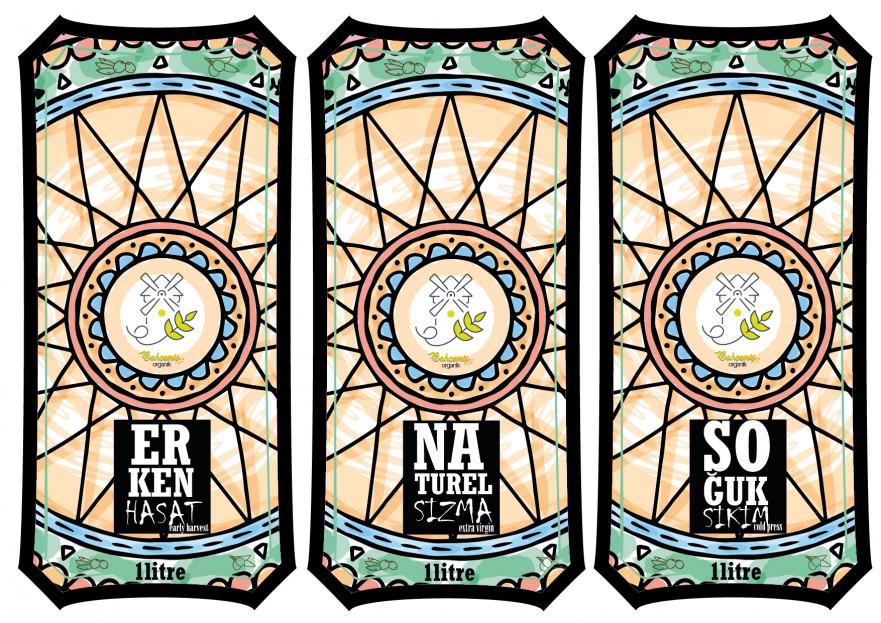 Yoresel, dogal urunler etiket tasarimi yarışmasına tasarımcı Assakam tarafından sunulan  tasarım