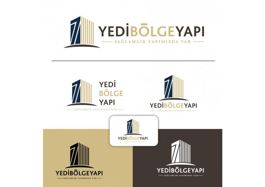 İnşaat firmamız için logo tasarımı yarışmasına velvet tarafından girilen tasarım