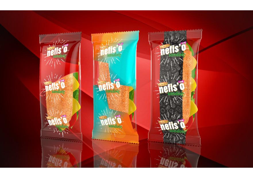 Nefis'o Paketlenmiş Sandviç yarışmasına tasarımcı mycreative tarafından sunulan  tasarım