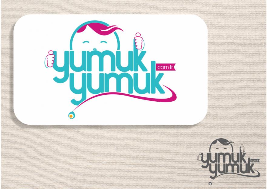 YUMUKYUMUK.COM.TR Logo ve Amblem Tasarım yarışmasına tasarımcı syyrealism tarafından sunulan  tasarım