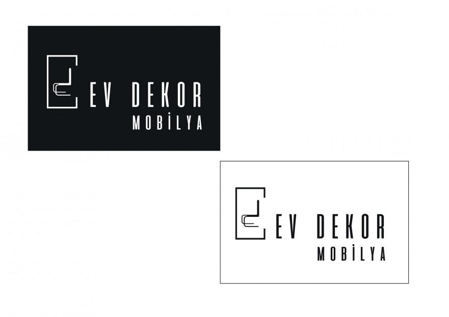 EV DEKOR MOBİLYA FİRMAMIZA YENİ LOGO  yarışmasına tasarımcı meryem_k tarafından sunulan  tasarım